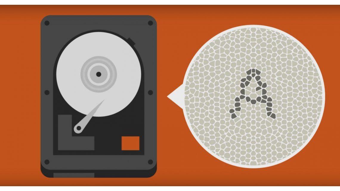 Toda la literatura del mundo en disco duro tan pequeño como un sello