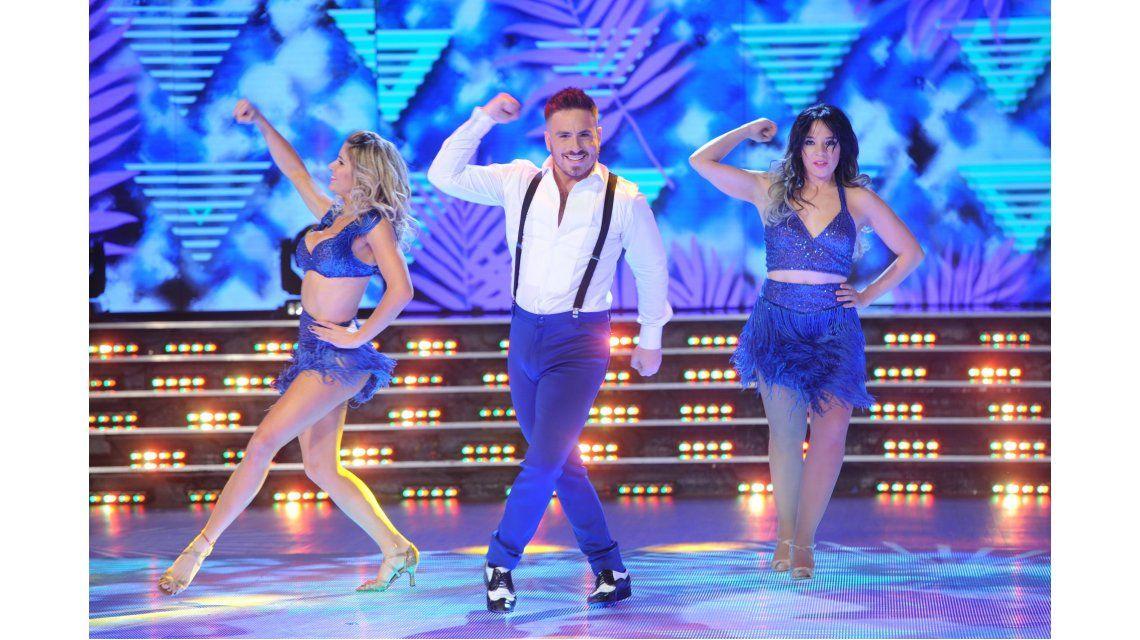 Lissa, en Showmatch: excelente salsa junto a Fede y Laurita y su hija revolucionó la pista