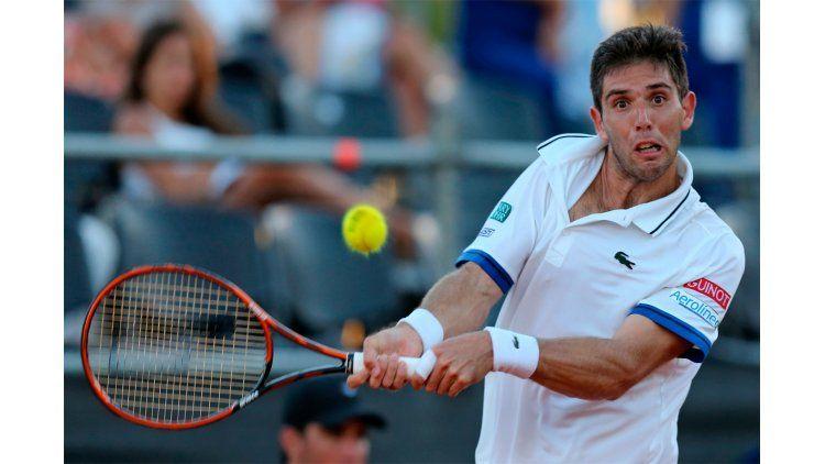 El azuleño Federico Delbonis cayo ante el luxemburgués Gilles Mulles por los cuartos de final del ATP de Basilea