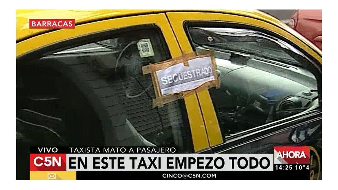 Habló el taxista que apuñaló y mató a un pasajero: Era mi vida o la de él