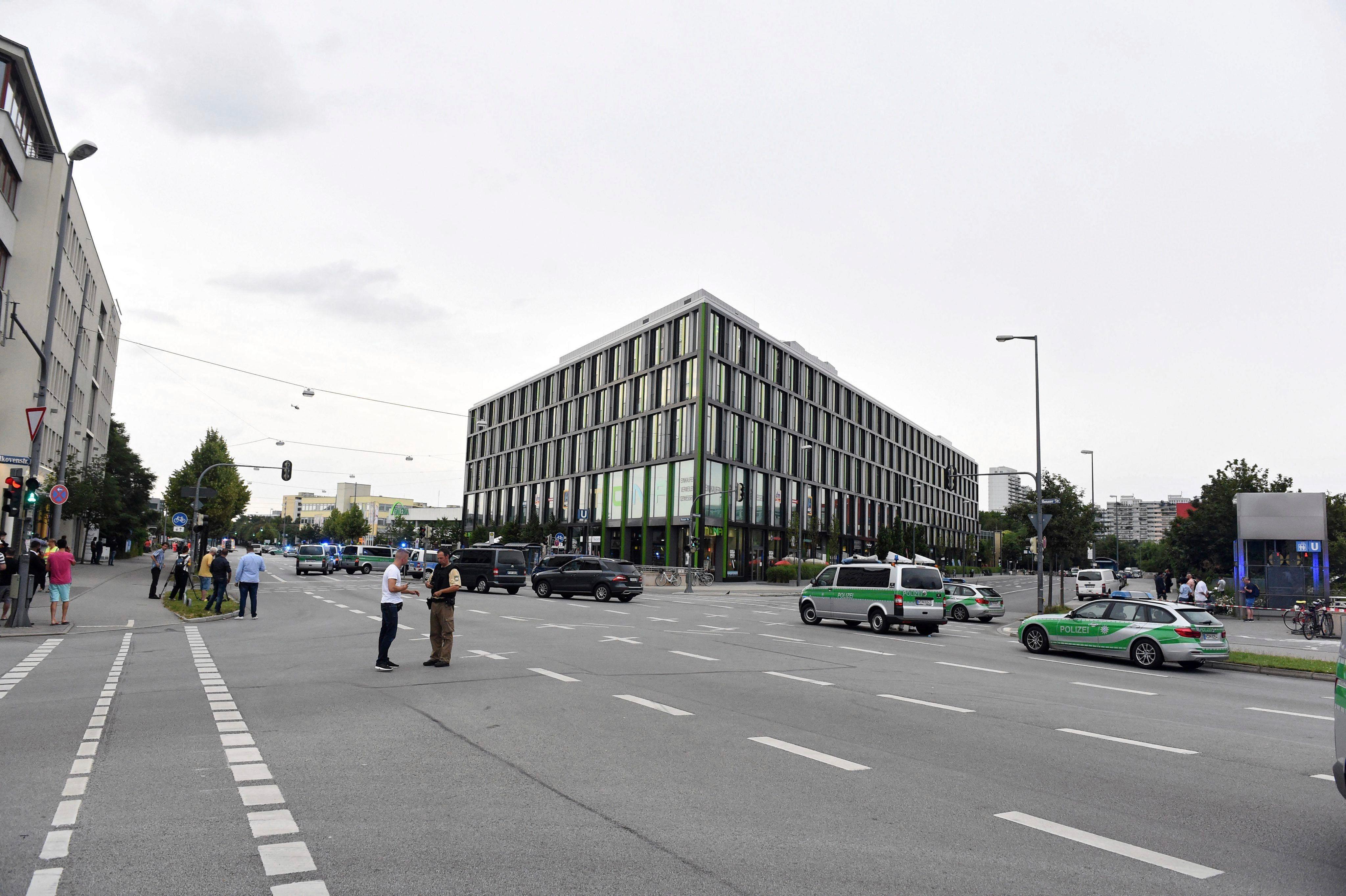 Las imágenes del tiroteo en Munich que dejó al menos seis muertos