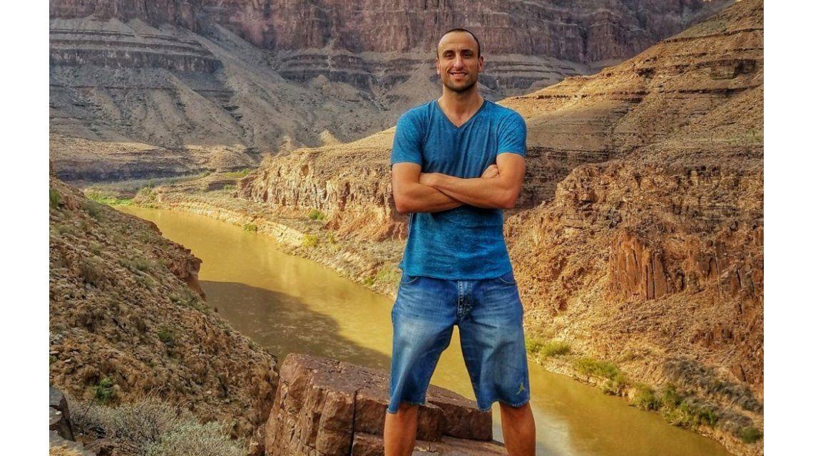 Así sufrió Manu Ginóbili un vuelo extremo por el Gran Cañón del Colorado