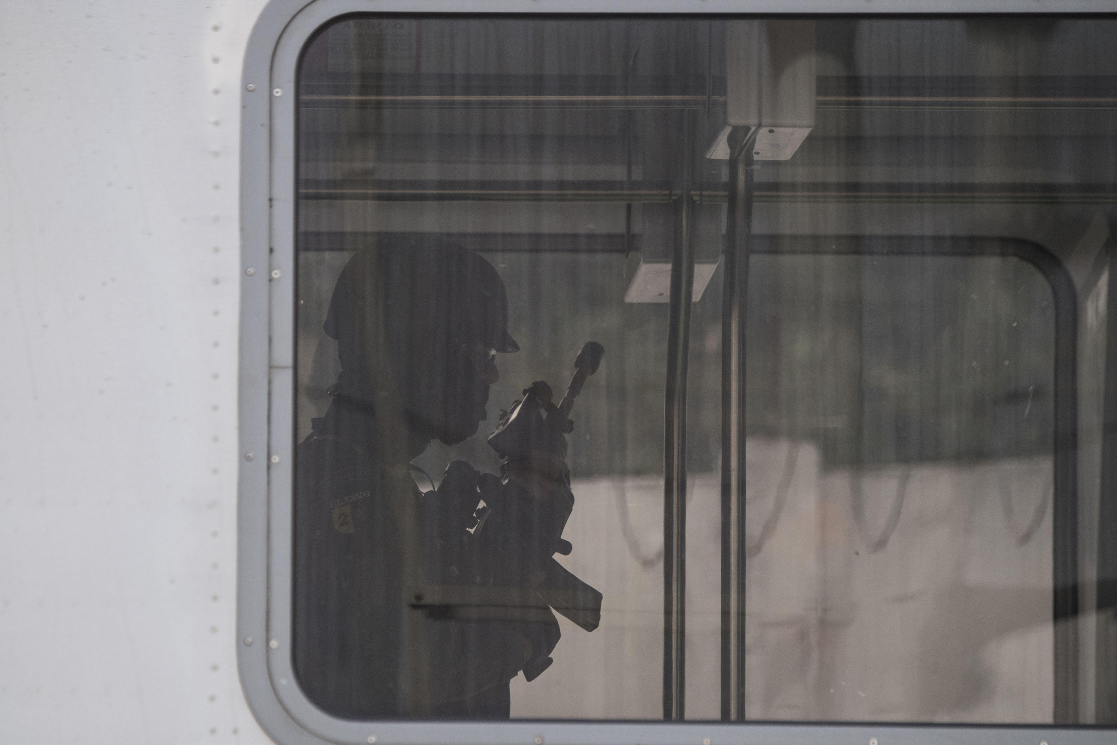 Así simularon un atentado terrorista en Río de Janeiro
