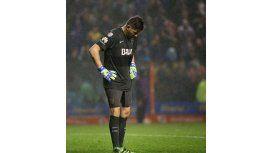Orion pensó en el retiro después de la eliminación Boca en la Copa