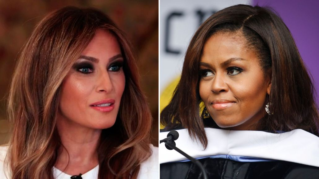 La esposa de Trump copió parte de un discurso de Michelle Obama
