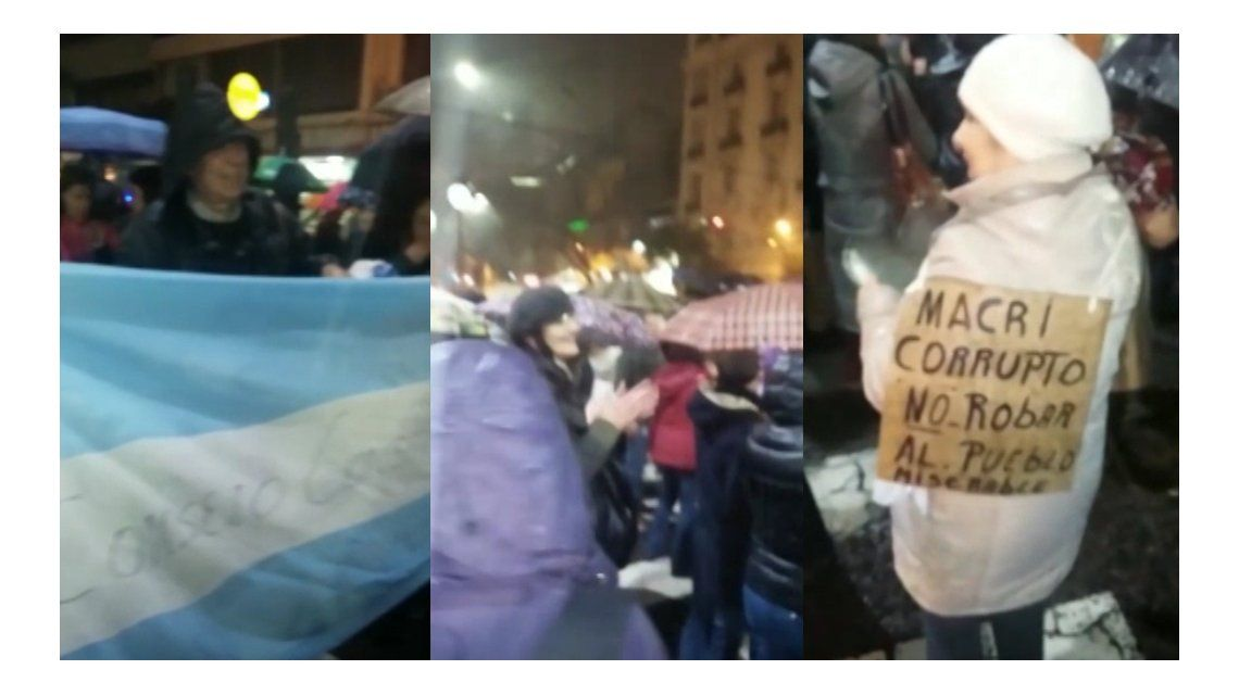 VIDEO: Así se vivió el cacerolazo en Caballito