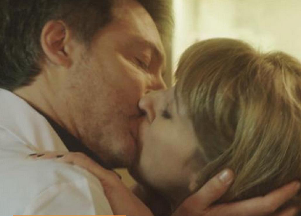 Silencios de familia: desopilante primer beso entre Adrián Suar y Florencia Bertotti