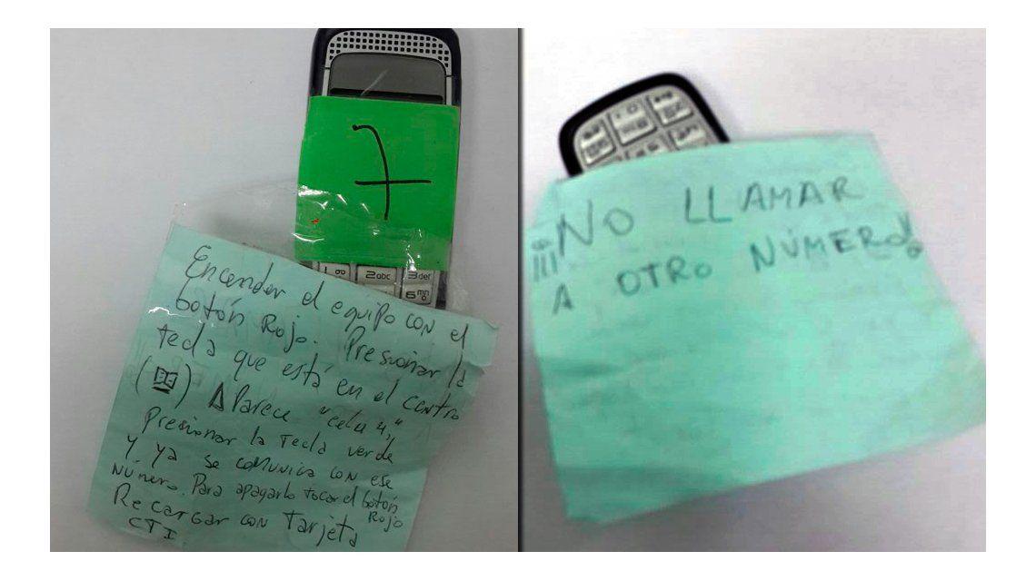 El celular de José López y las misteriosas instrucciones para su uso