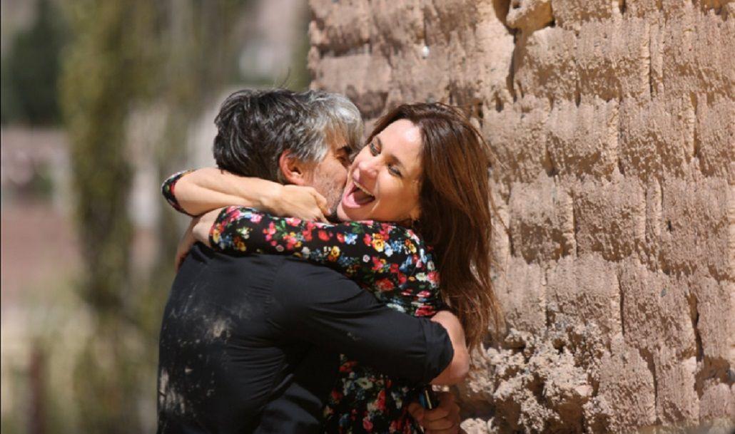 Final feliz para La Leona: así fue el reencuentro romántico de Echarri y Dupláa