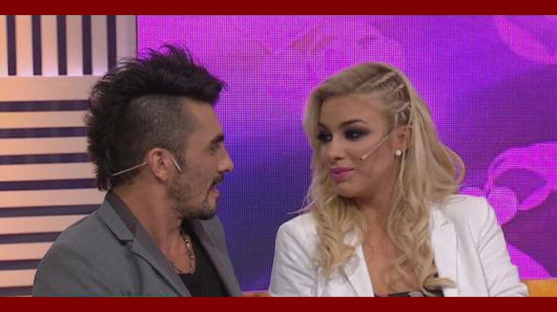 Angustia y tensión: Ailén Bechara y Fernando Bertona se reencontraron tras la separación
