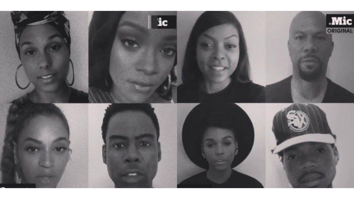 De Beyoncé a Pharrell Williams: el video de 23 famosos contra la violencia racial