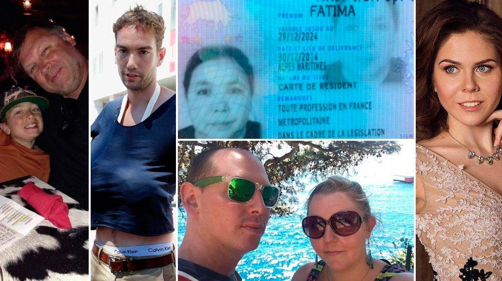 Turistas, nenes y familias enteras: éstas son las víctimas del atentado en Niza