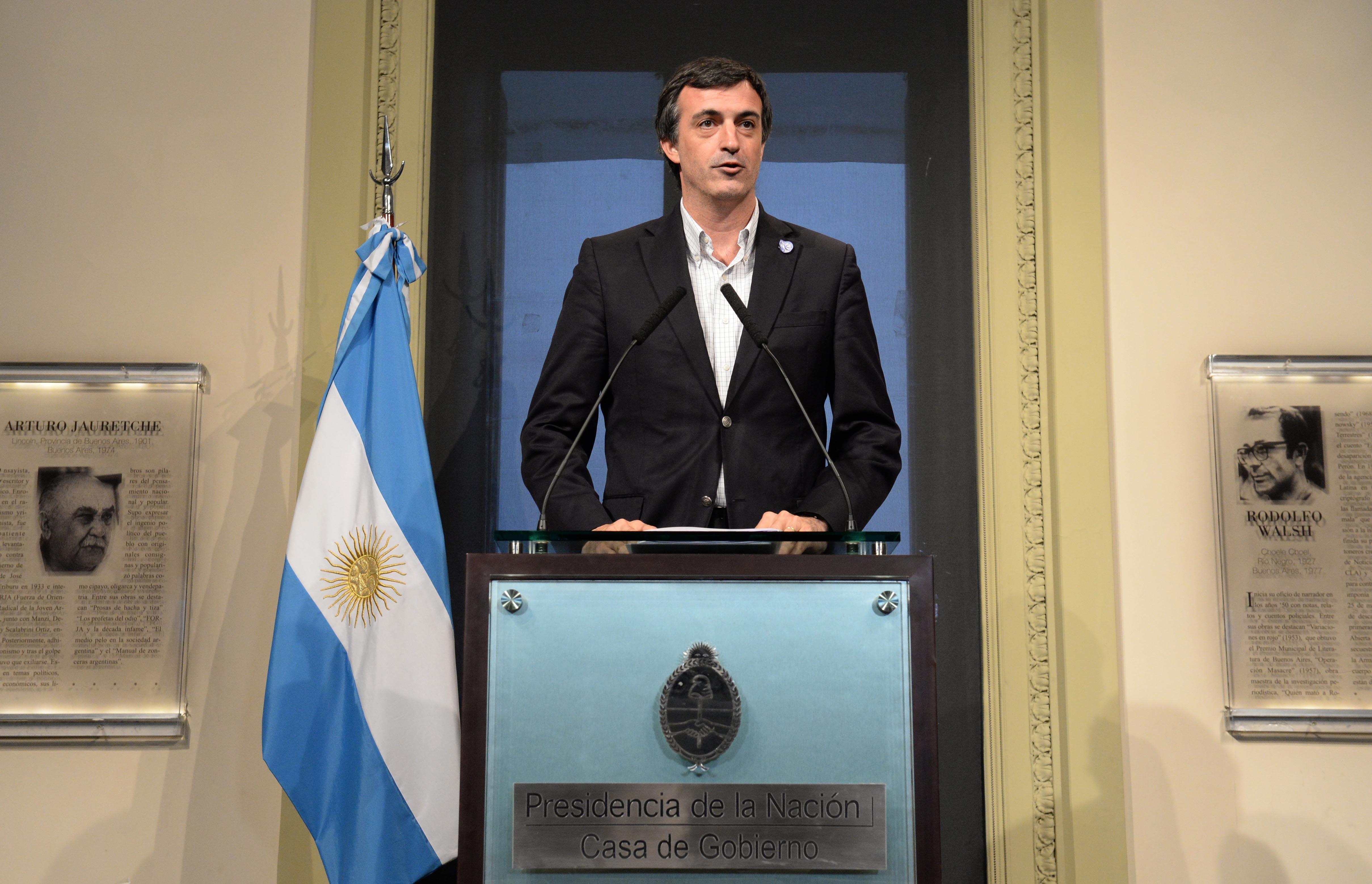 Esteban Bullrich confirmó que no se convocará a una paritaria nacional docente
