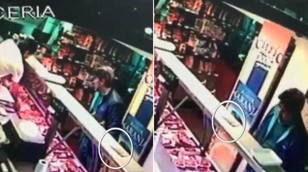 Acusan a Pachu Peña de haber robado plata en una carnicería