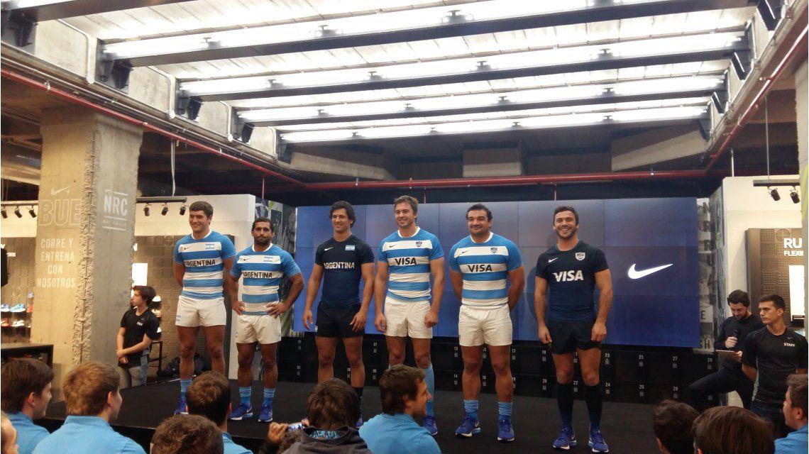 Conocé las nuevas camisetas que usarán los Pumas en el Rugby Championship 12361c377fb08