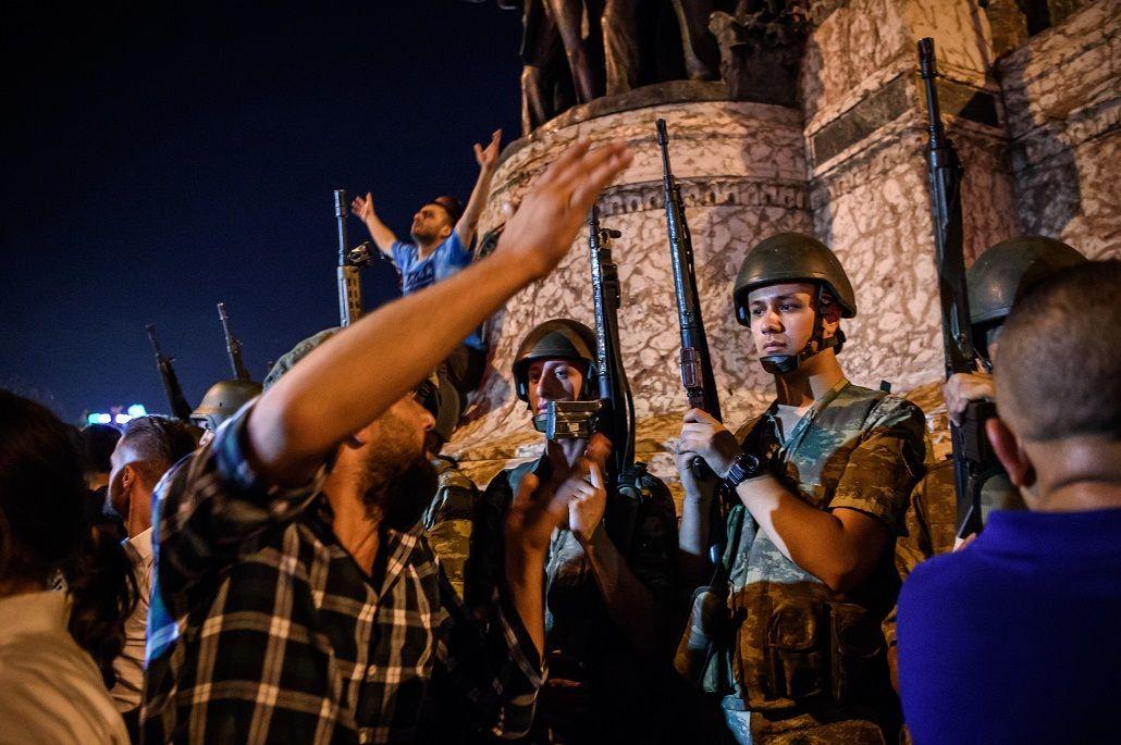 Las fotos del terror que se desató en Turquía