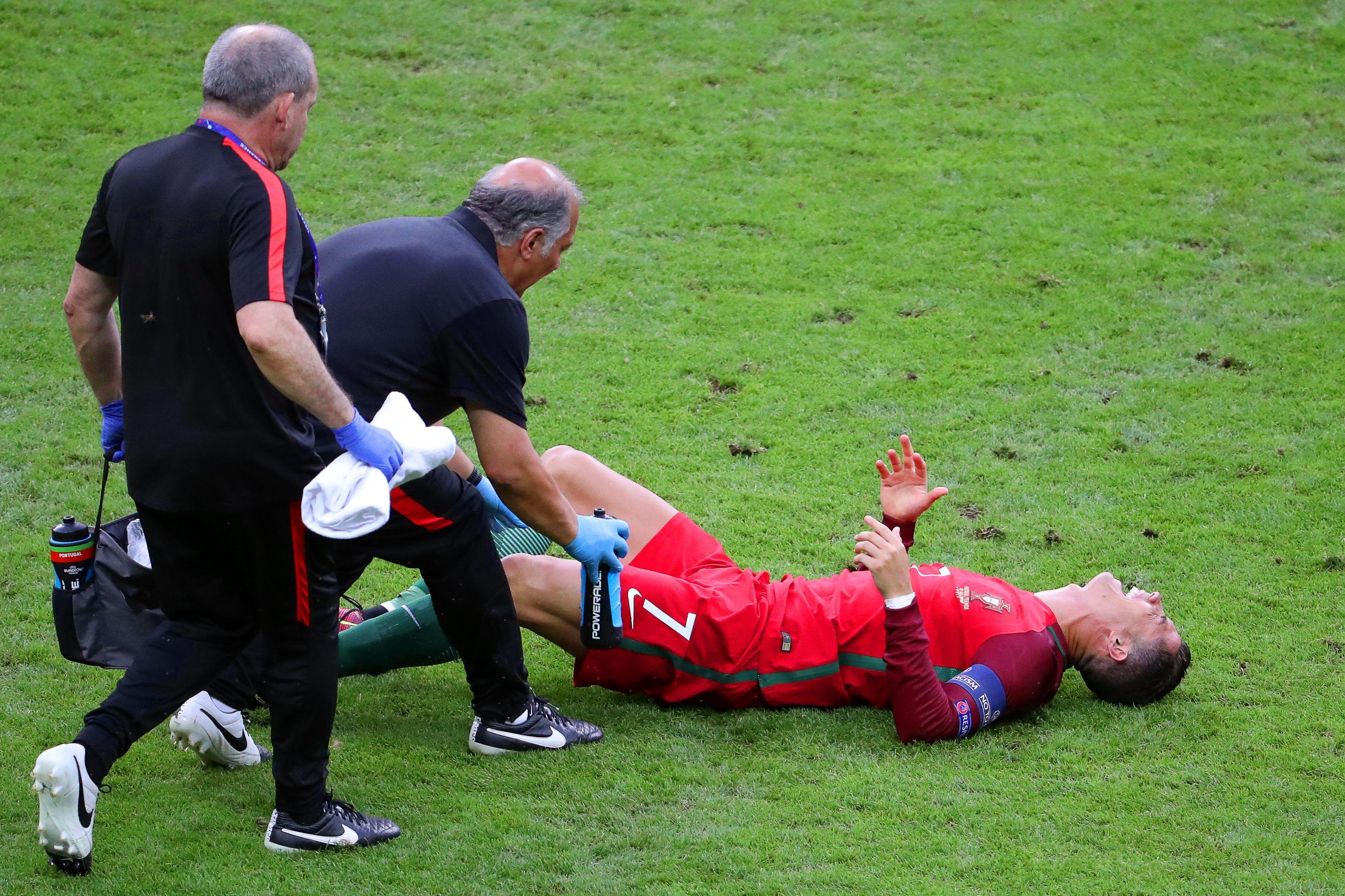 ¿Cuánto tiempo estará inactivo Cristiano Ronaldo por su lesión?