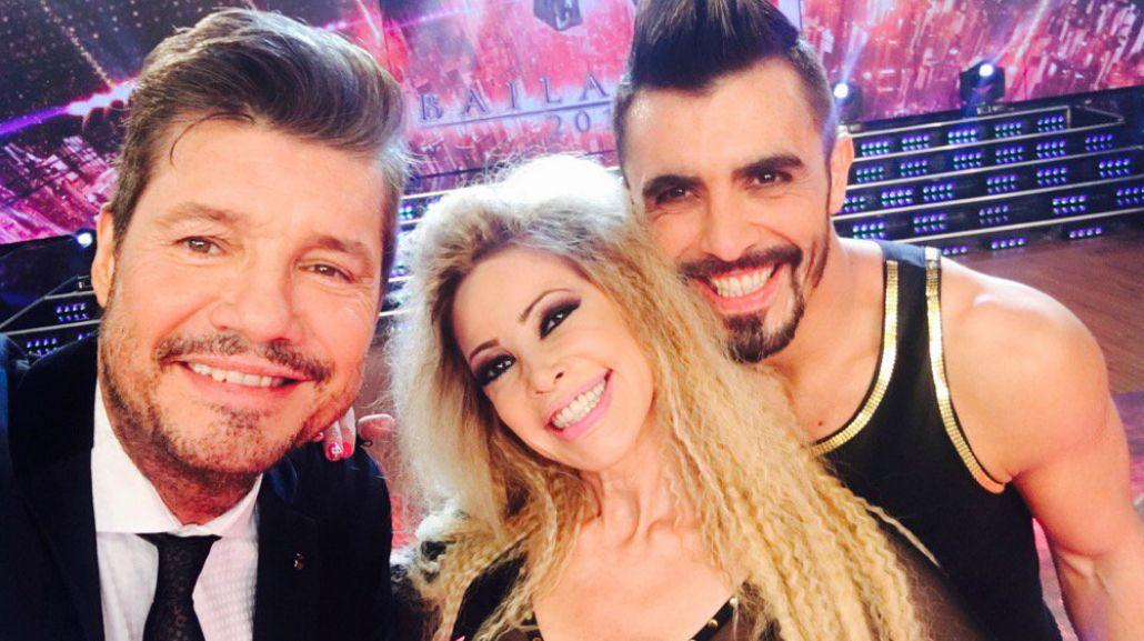La abogada hot cantó un tema de Thalía e hizo bailar a Marcelo Tinelli