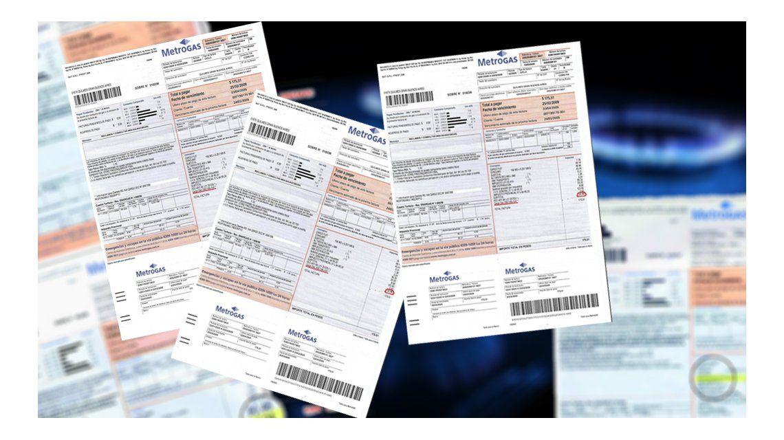 Metrogas comenzó a imprimir las facturas de gas, sin aumento, del período abril-agosto
