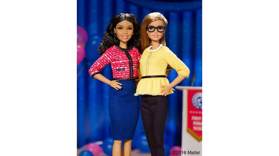 Barbie se sigue modernizando: ahora llegan las muñecas presidenta y vicepresidenta