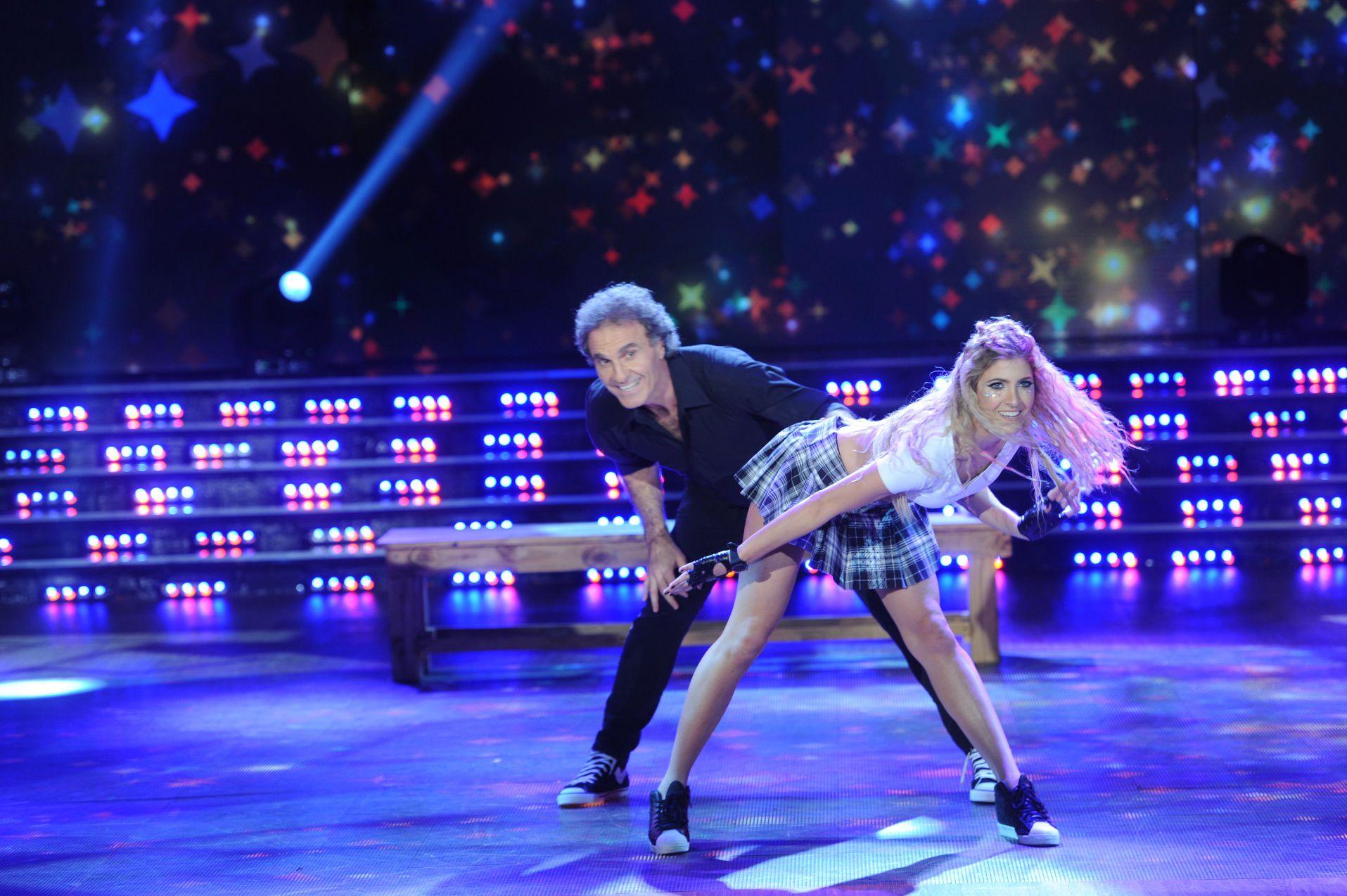 Malas críticas para Oscar Ruggeri tras su baile en el street pop