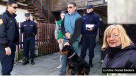 Una jubilada murió luego de ser atacada por sus dos rottweilers