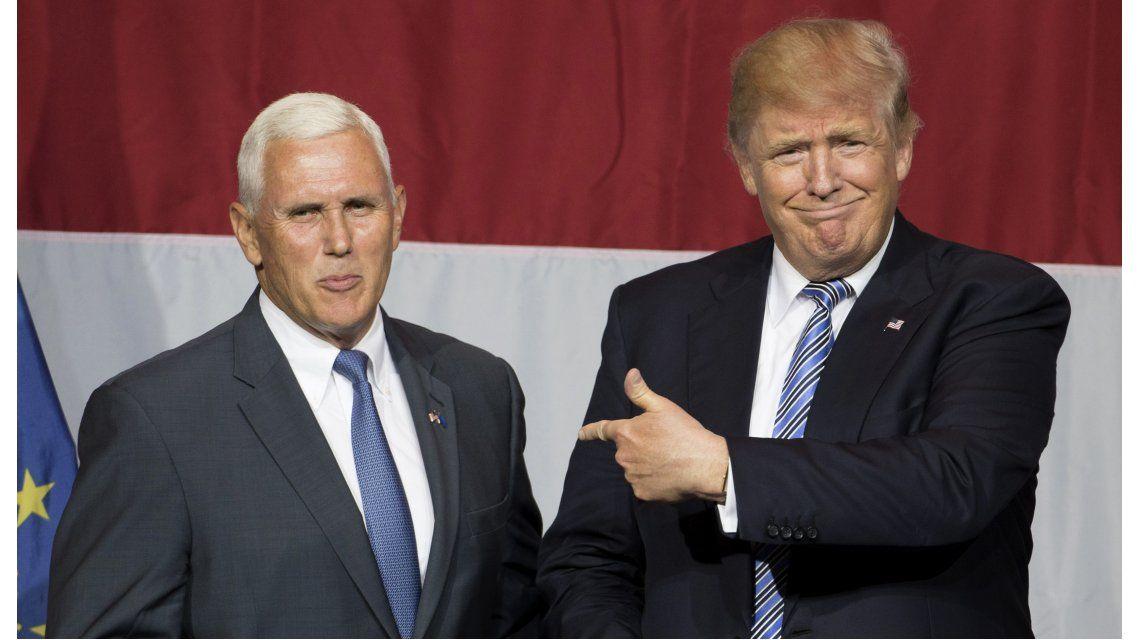 Donald Trump anunció a su vicepresidente: el conservador Mike Pence