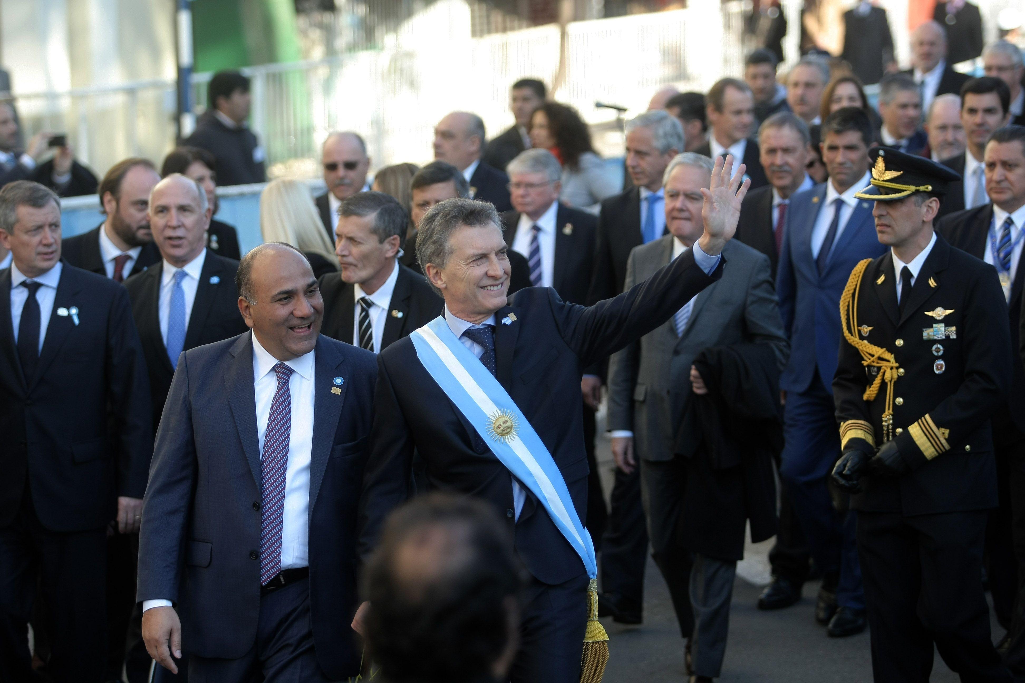 La excusa de Macri: no asiste a los desfiles militares porque está cansado