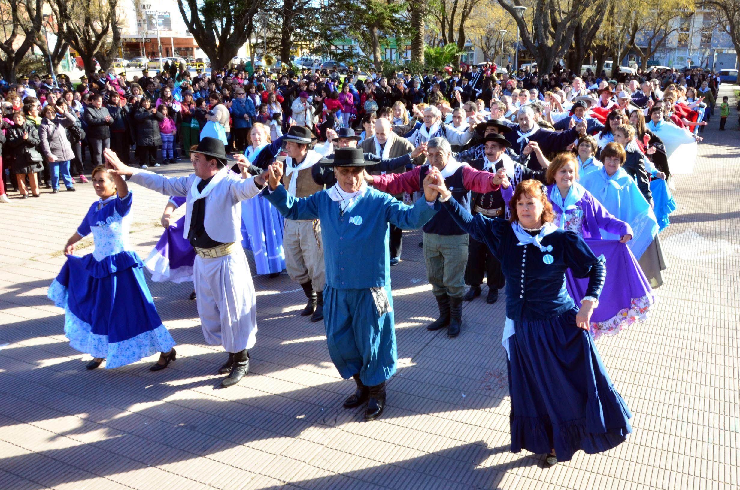 Las fotos del festejo en todo el país por el Bicentenario