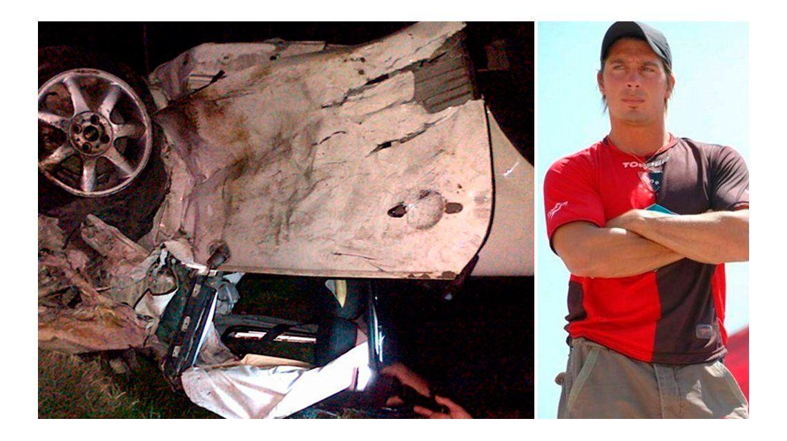 El grave accidente de un ex participante de Gran Hermano: impactantes imágenes