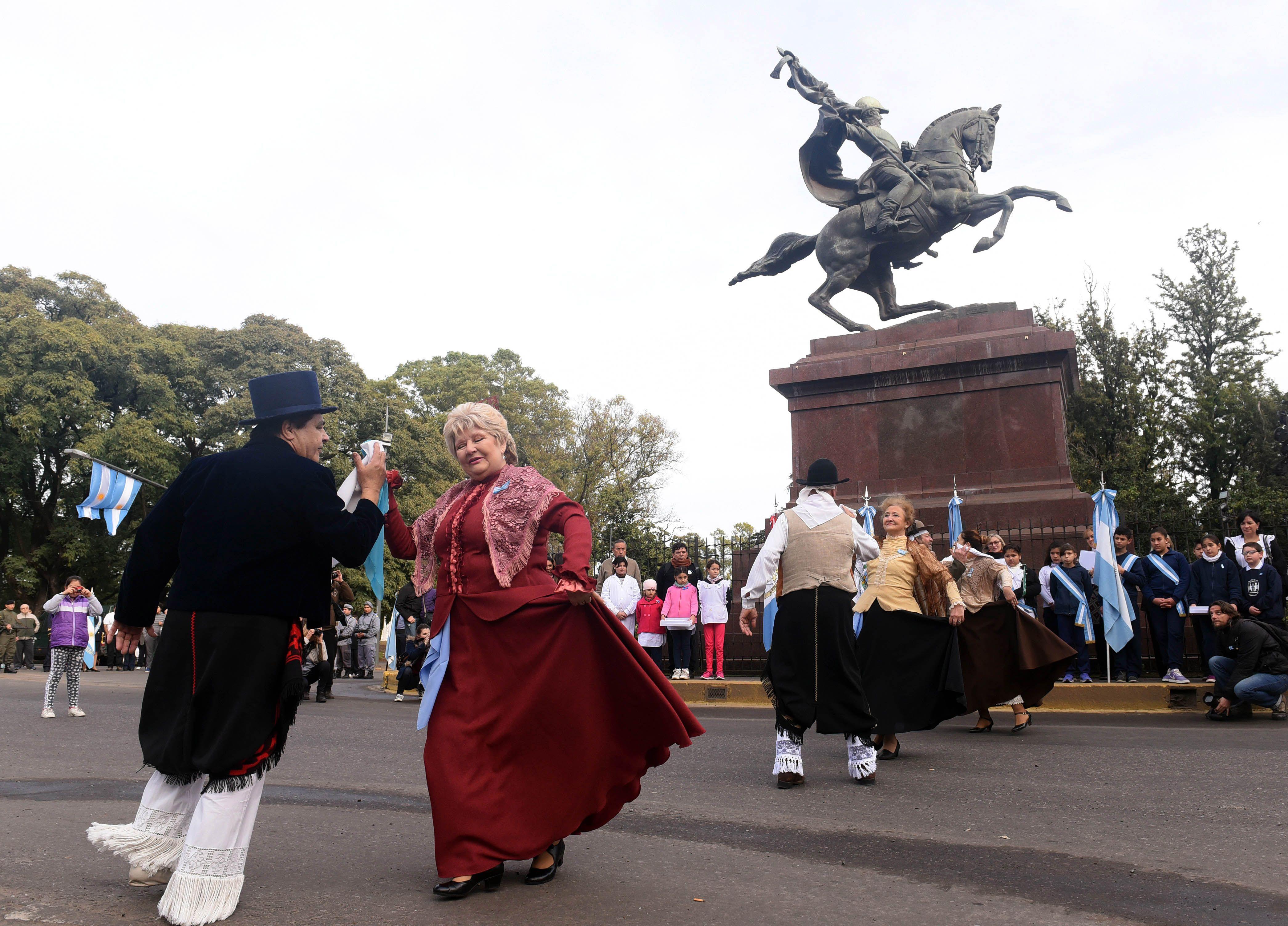 Así fueron los festejos del Bicentenario en todo el país