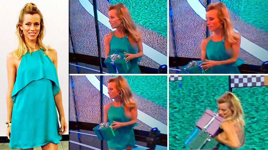 VIDEO: El descuido hot de Nicole Neumann en vivo