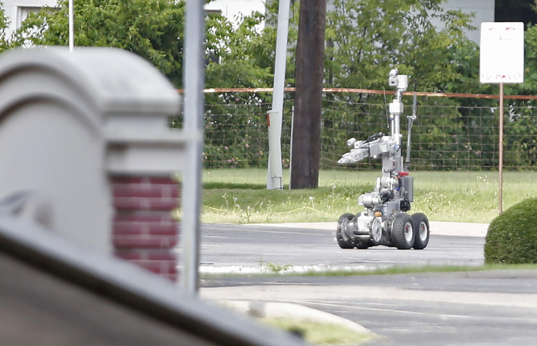 Este es el robot policial que explotó y abatió al francotirador de Dallas
