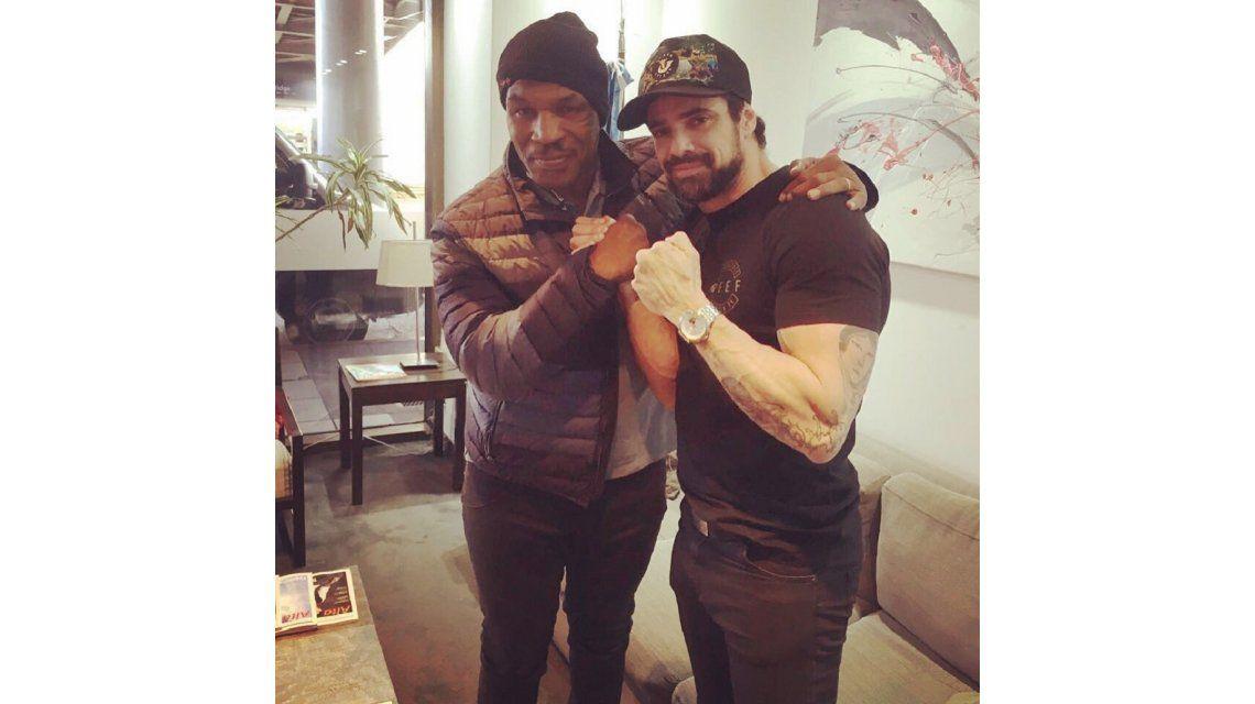 ¿Vuelve a pelear? El encuentro de Luciano Castro con Tyson