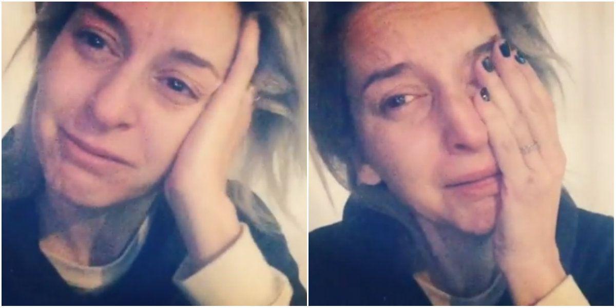 Maru Fernández, en crisis existencial, se grabó llorando: Esto también soy yo