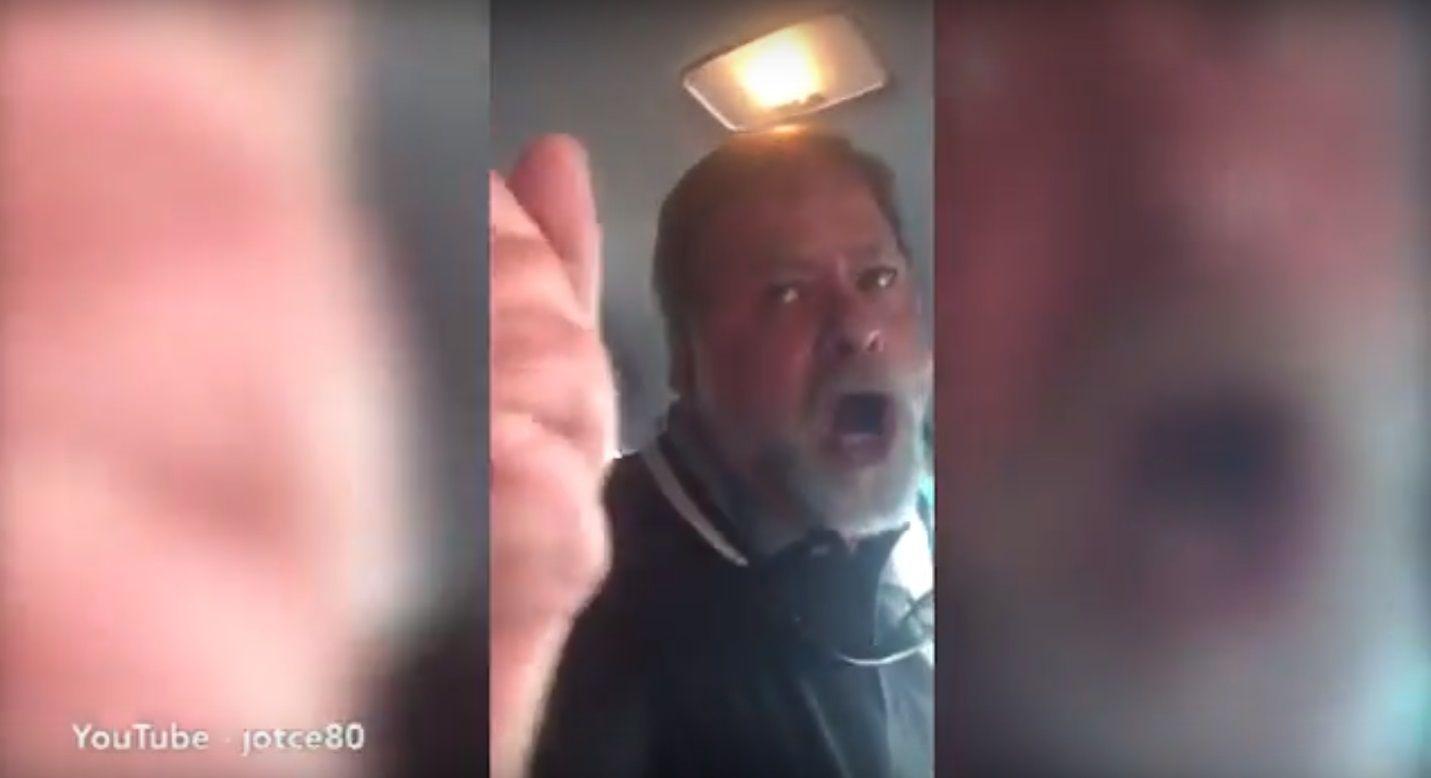 VIDEO: Un chofer de Uber no quiso llevarla al hospital porque lo hizo esperar