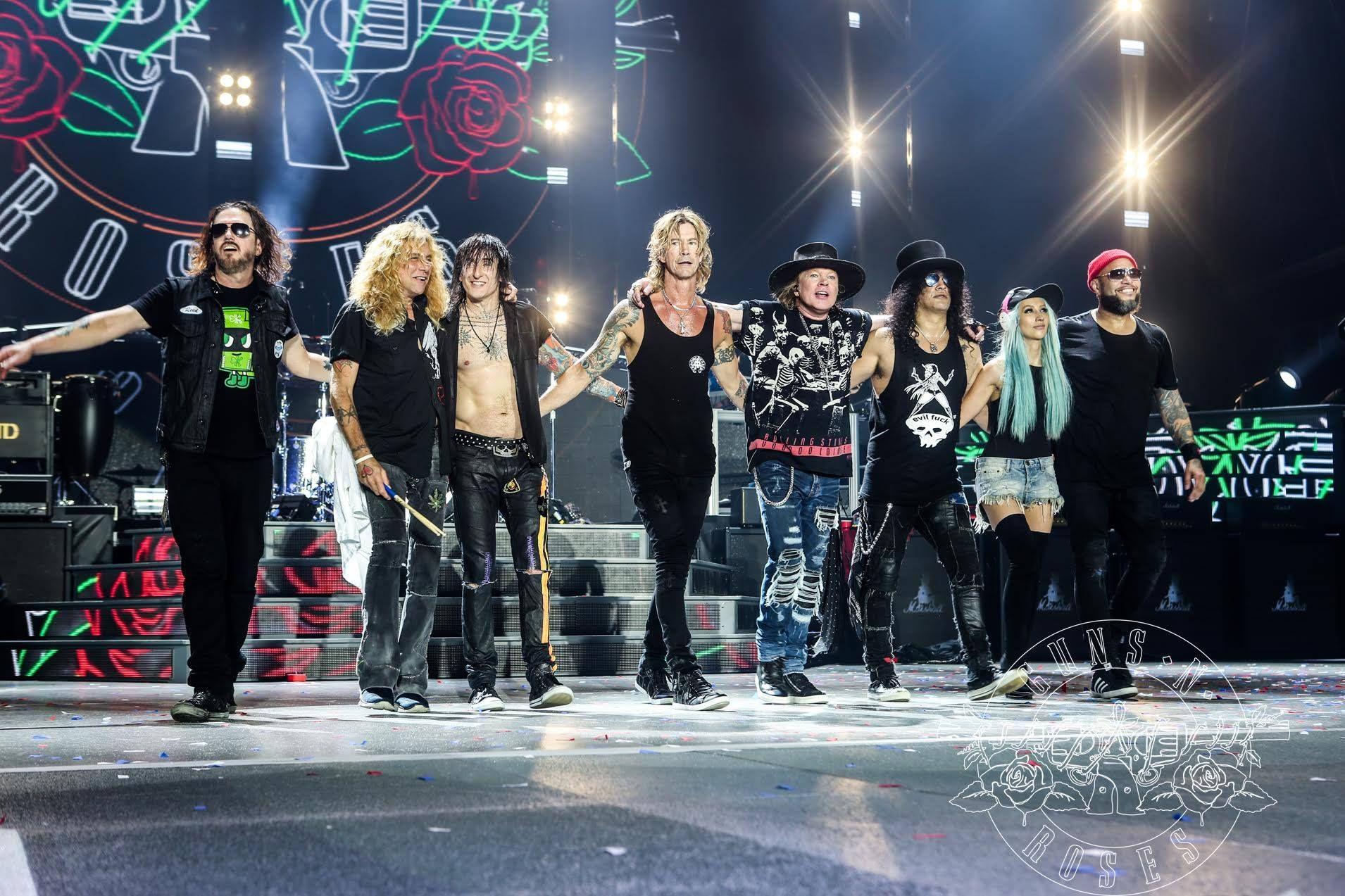 Los Guns N Roses tocarán en Argentina en noviembre