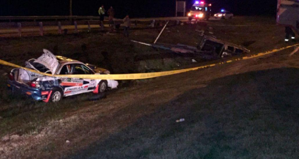 Tragedia en Uruguay: un piloto argentino de rally murió en un accidente