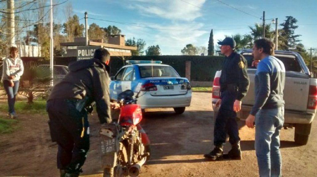 Intendente héroe: persiguió con su auto a dos ladrones y los atrapó