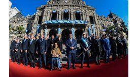 Mauricio Macri firmó un acuerdo con las provincias