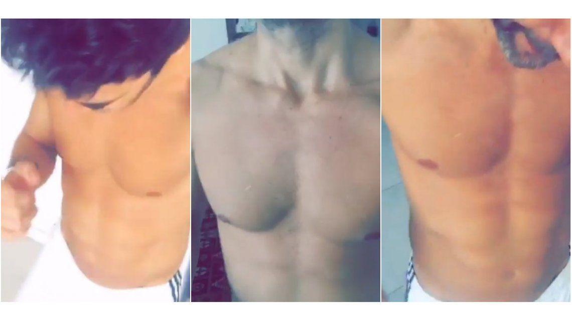 Mariano Martínez, a pura cumbia con un video muy sensual en Instagram