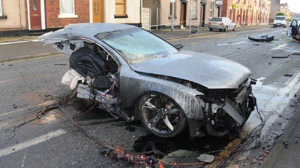 Exhiben el auto destrozado en el que murió su hijo para pedir mayores condenas