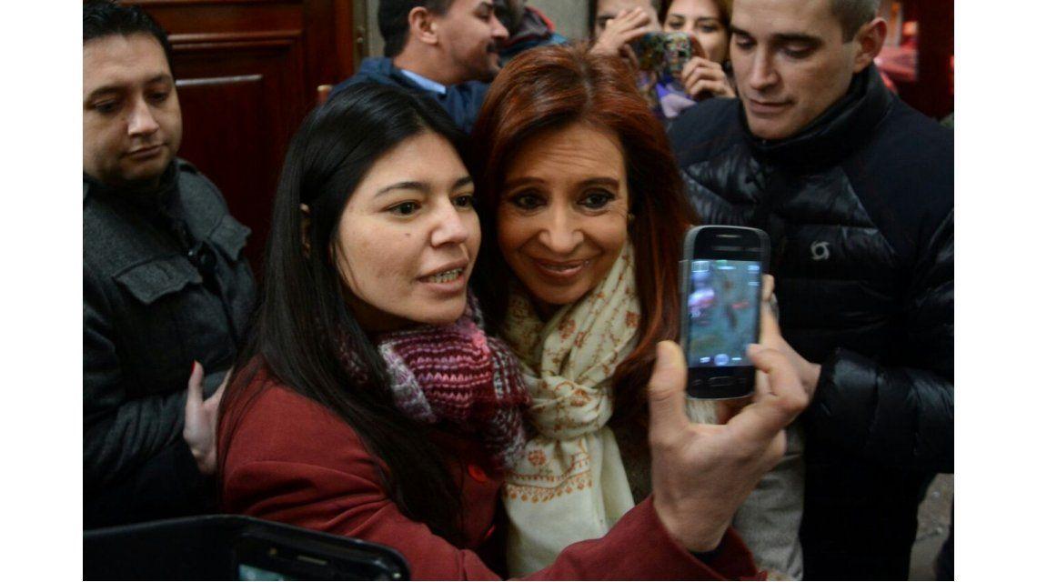 Cristina se reunió con diputados, intendentes y ex funcionarios del FPV