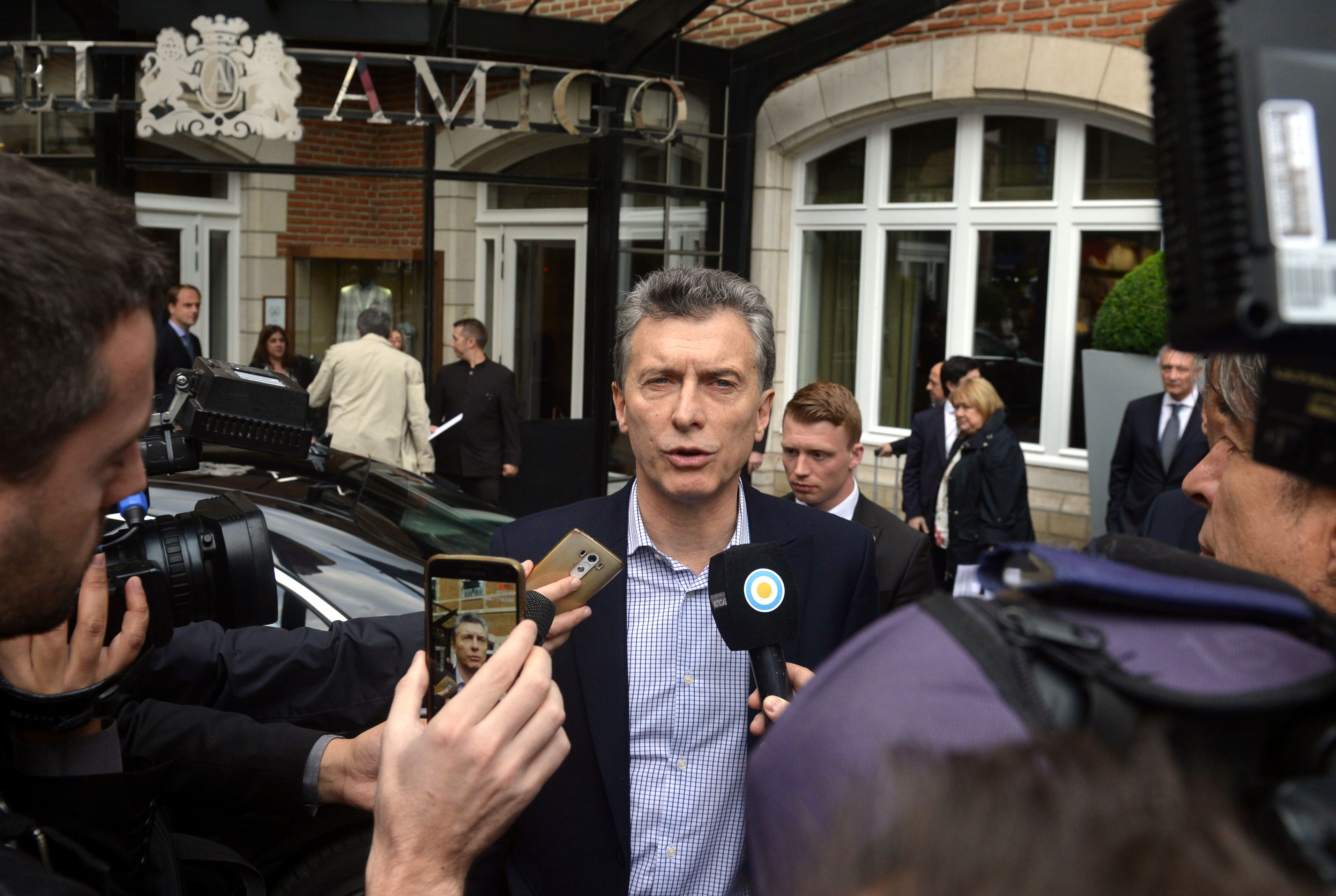 Macri: Nadie tiene derecho a usurpar lo que no es de uno