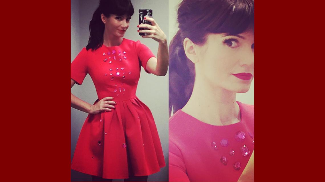 Griselda Siciliani aclaró por qué usó el mismo color de vestido que Susana Giménez
