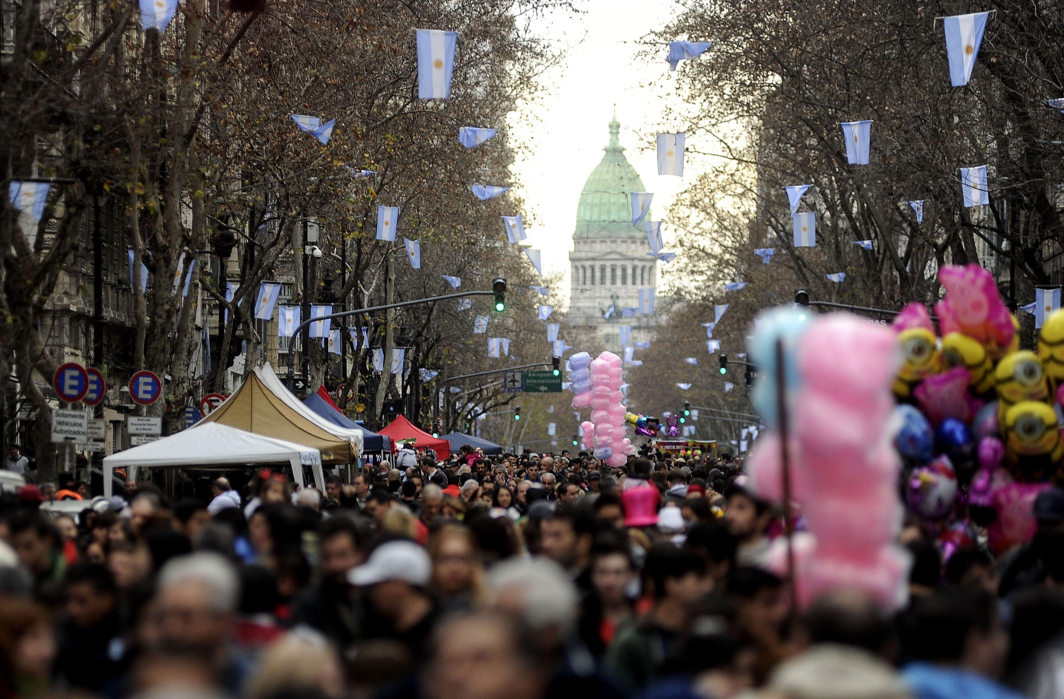 Los festejos por el Bicentenario comenzaron en Plaza de Mayo