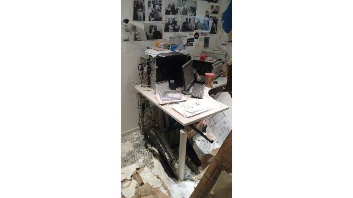 Trabajadores de Tiempo Argentino denuncian que hombres armados los echaron de la redacción