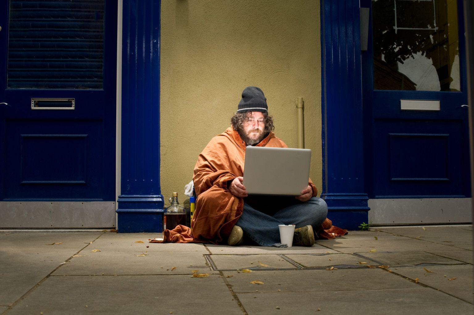 Internet, el nuevo refugio de los sin techo en Nueva York