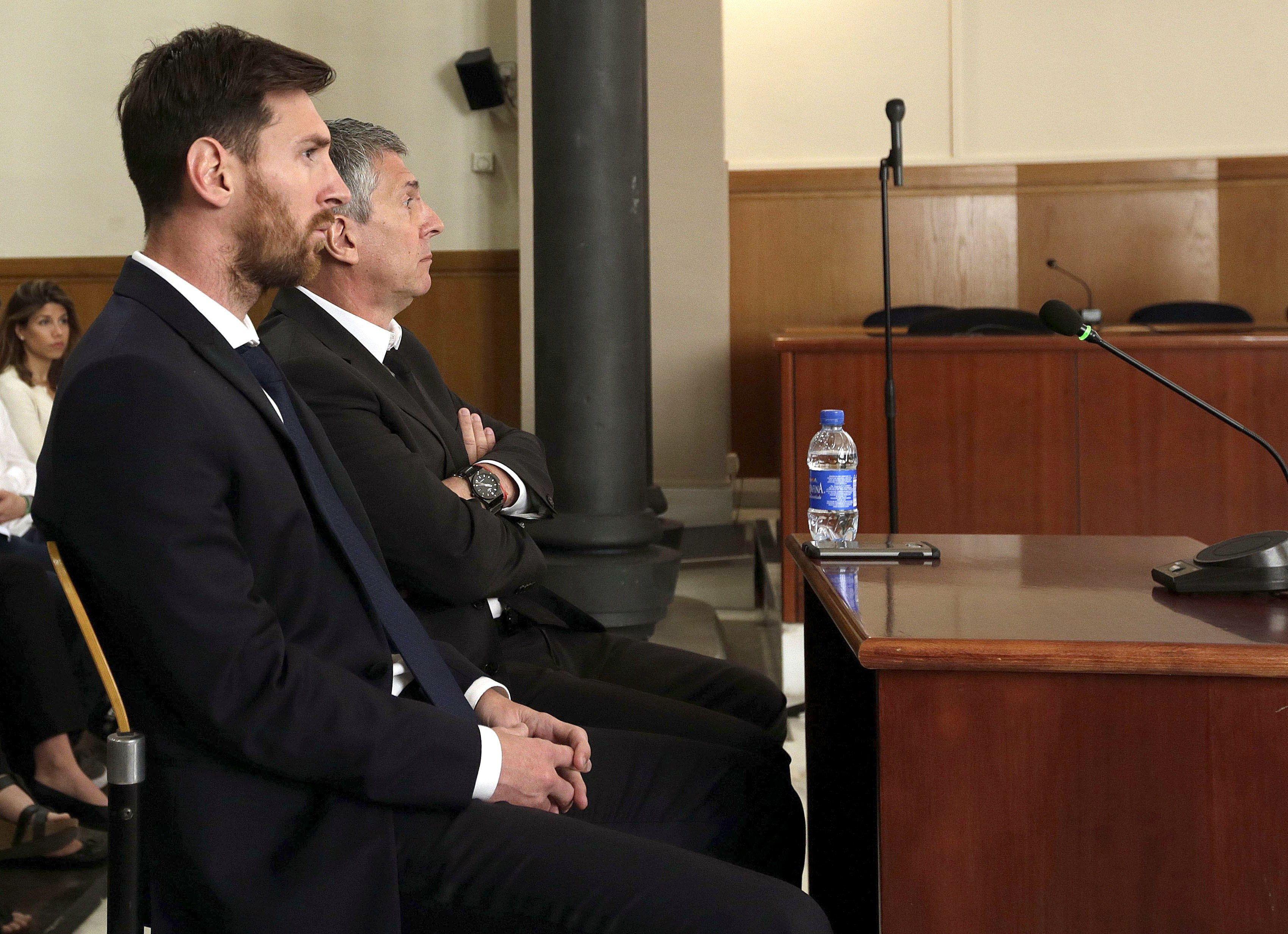 Messi apelará la condena por fraude fiscal en España