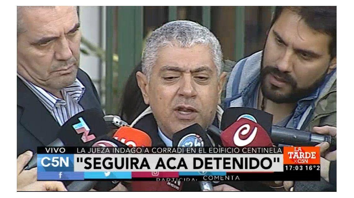 Declaró Pérez Corradi y piden que sea considerado como testigo protegido